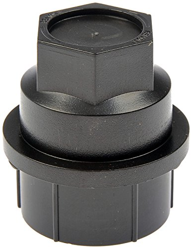 Dorman 711-025 Black Wheel Nut Cover - M27-2.0, Pack of (C1500 Suburban Lug Nut)