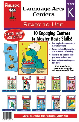 4 Pack THE MAILBOX BOOKS LEARNING CTR LANGUAGE ARTS GR - Ctr Box