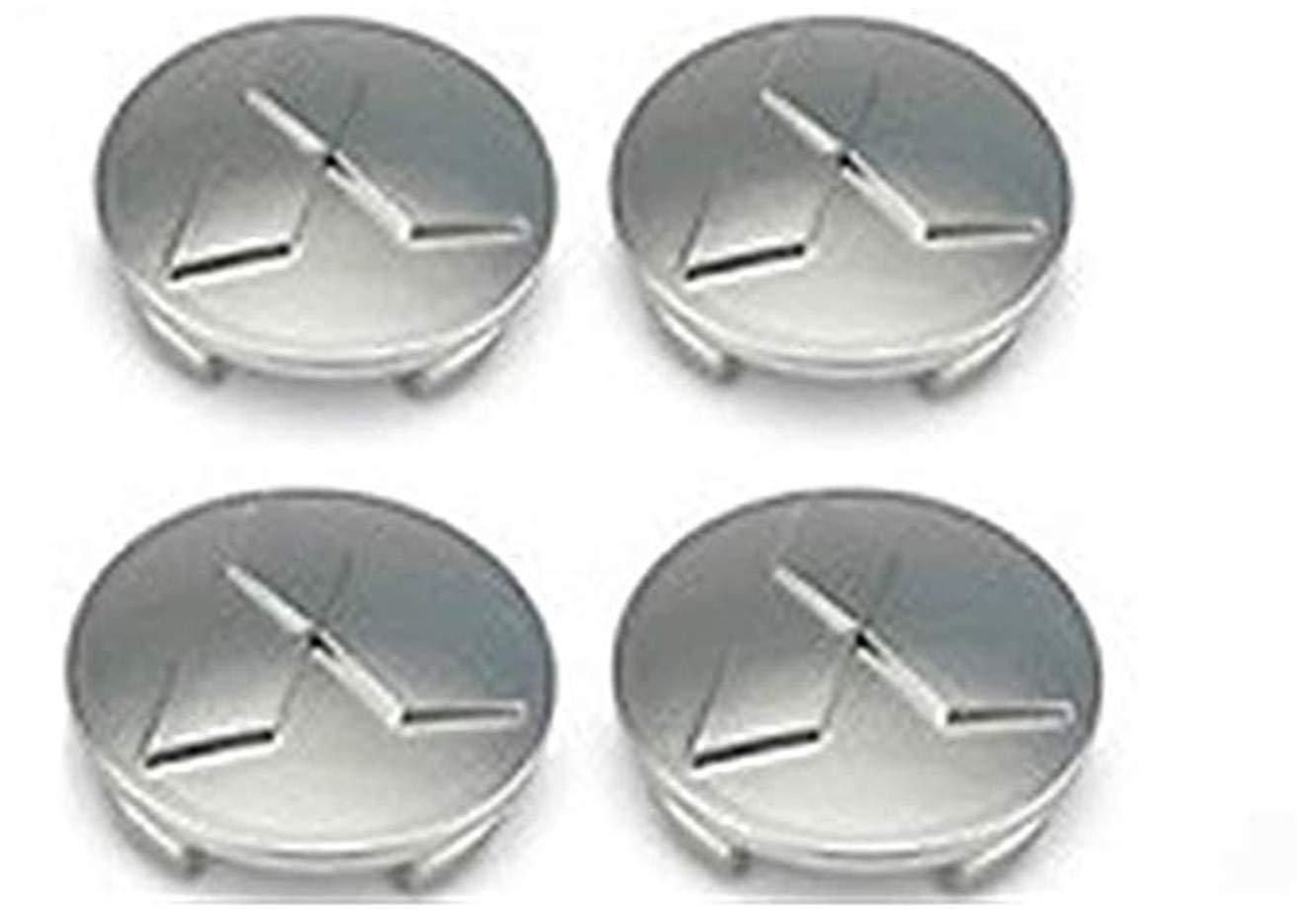 fanlinxin 4 Piezas Mitsubishi 60 mm Galland Outlander Mirage Lancer Eclipse Tapacubos Centro Caps: Amazon.es: Coche y moto