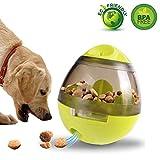 #8: Pet IQ Treat Ball Dog IQ Toy Ball Treat Dispensing Dog Toys Dog Toy IQ Treat Ball Dog Treat Dispensing Ball Dog Toy Ball Pet Food Ball Interactive Treat Kibble Dispensing Dog Food Activity Treat Ball