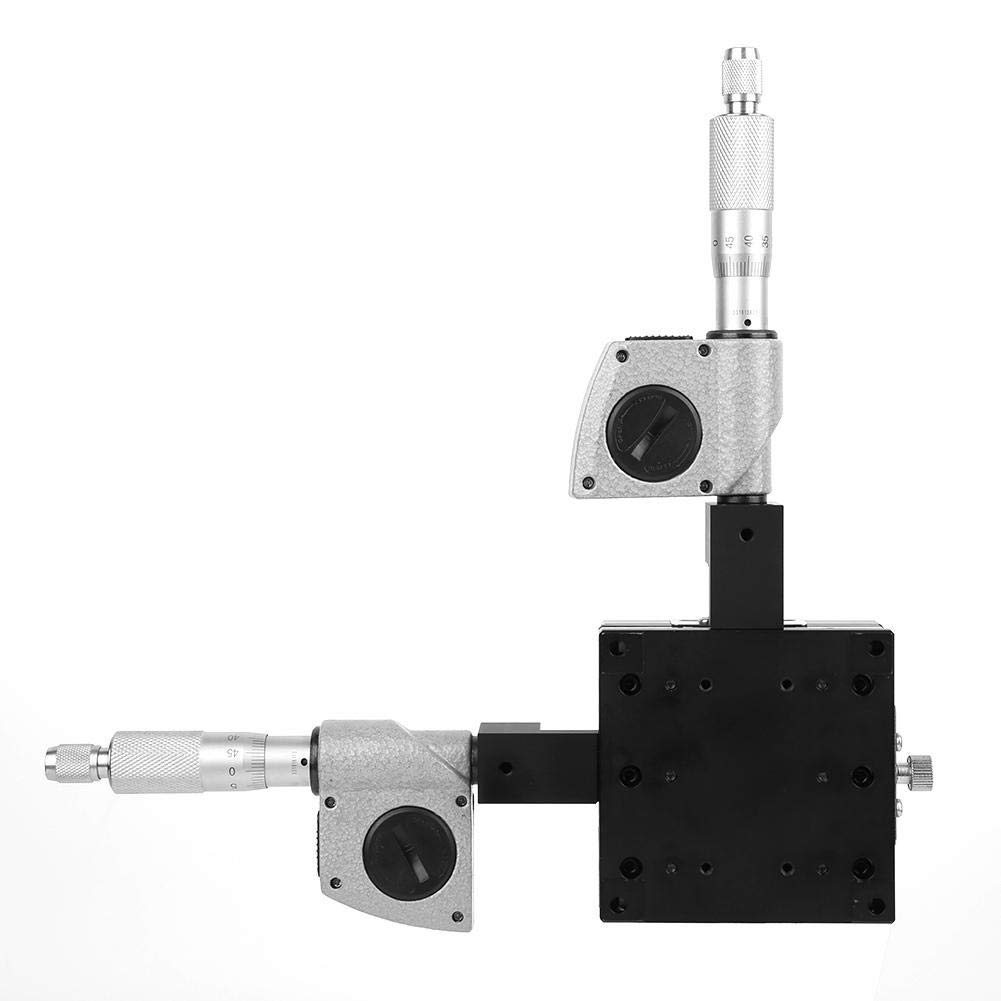 SEMY80-AC X Y Dual Axis Digital 0.002mm Precision Fine Tuning Platform Cross Slide Micrometer Platform