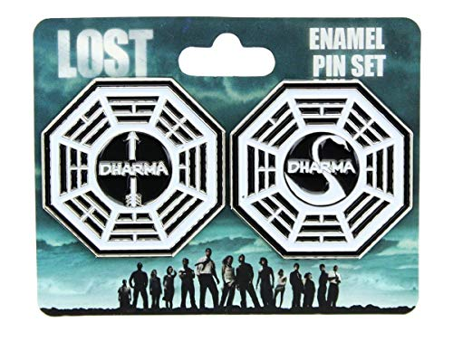 Lost Dharma Collectibles| Lost Dharma Initiative Station Enamel Collector Pin ()