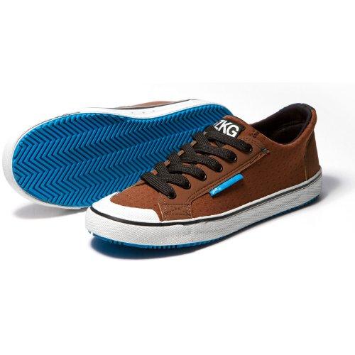 Zhik ZKG Sailing Shoes Wet Shoes - Brown/Cyan