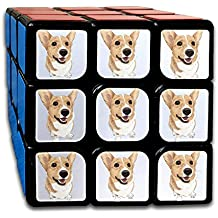 A Lovely Corgi Dog With Short Legs3x3 Magic Cube Puzzles Toys Best Gift For Kids