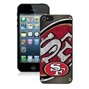 New Fashion Case Diy Iphone 5 case cover Iphone 5s case covers NFL San Francisco 49ers 6 Free dEINgoEL3MF Shipping