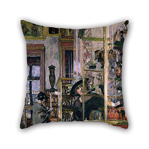 [Beautifulseason 20 X 20 Inches / 50 By 50 Cm Oil Painting Edouard Vuillard - La Salle Clarac Pillowcover ,twice Sides Ornament And Gift To] (Crosby Halloween Costume)