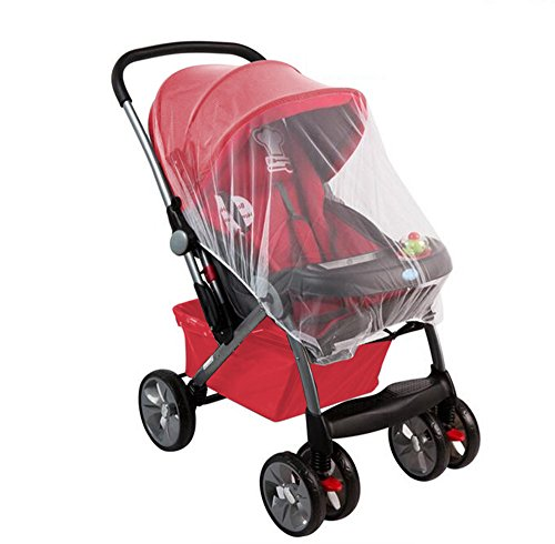 Baby-Insect-Net-By-Lebogner-Stroller-Mosquito-Net-Fits-Carriers-Car-Seats-Cradles-Most-Cribs-Bassinets-Playpens-Made-Of-Durable-White-Mesh-Netting-That-Provides-Complete-Child-Protection
