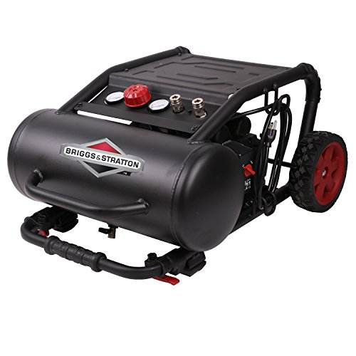 Briggs & Stratton 5-Gallon Air Compressor with 200 Max PSI, Hotdog 074062-00