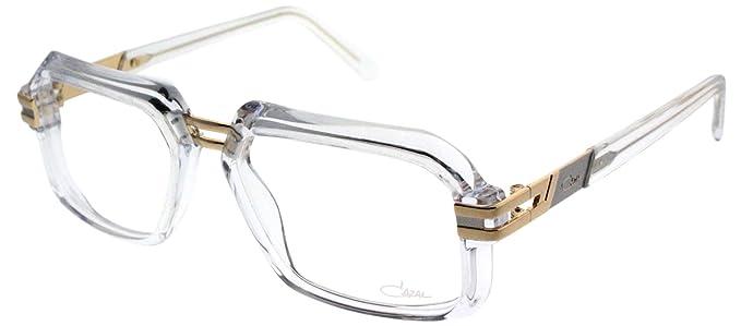 ed48e5c9f1f Amazon.com  Cazal 6004 004 Crystal Plastic Square Eyeglasses 56mm ...