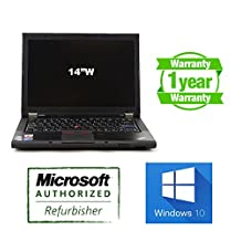 "Lenovo ThinkPad T410: Core i5 2.53Ghz, 6G DDR3, 640G, WIFI, DVDRW, 14"", Windows 10 Professional, NEW BATTERY, 1 YEAR WARRANTY!"