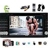 Product review for Android 6.0 Marshmallow Car Stereo Double 2 Din 6.2 Inch Capacitive Touch Screen Car DVD Player In Dash GPS Navigation Bluetooth Support OBD2 WiFi Mirrorlink + Free Rear Camera/External Micro EinCar