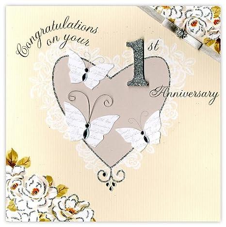 Anniversario Di Matrimonio Un Anno.Second Nature Biglietto Di Auguri Per Primo Anniversario