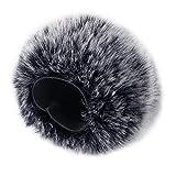 Foam Microphone Windscreen with Furry Windscreen
