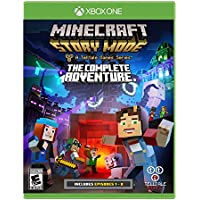Minecraft: Story Mode The Complete Adventure for Xbox One by Microsoft [Digital Download]
