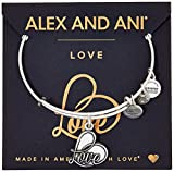 Image of Alex and Ani Love IV Charm Bracelet