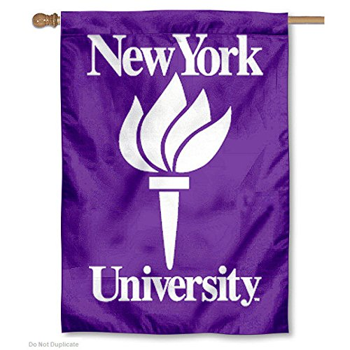 New York Nyu University College House Flag
