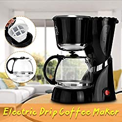 220-240V 550W Americano Drip Coffee Maker Machine Electric Black Hourglass Make Cafe Tea 600ML Multifunctional Coffee Machine