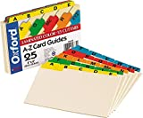 Oxford 04635 Laminated Tab Index Card