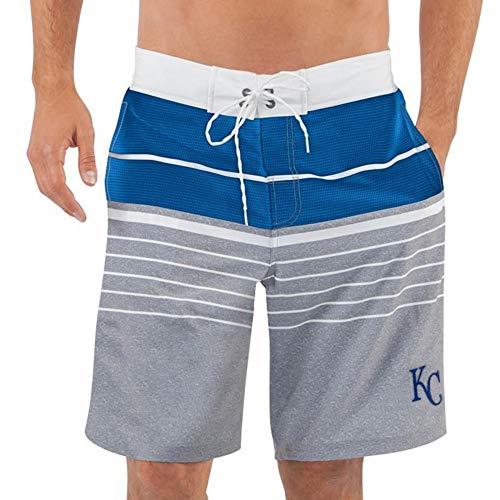 (Kansas G-III Sports by Carl Banks Balance Swim Trunks - Royal (XX-Large))