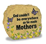 Best Banberry Designs Mom Plaques - Mom Message Stone with Butterflies & Flowers Review