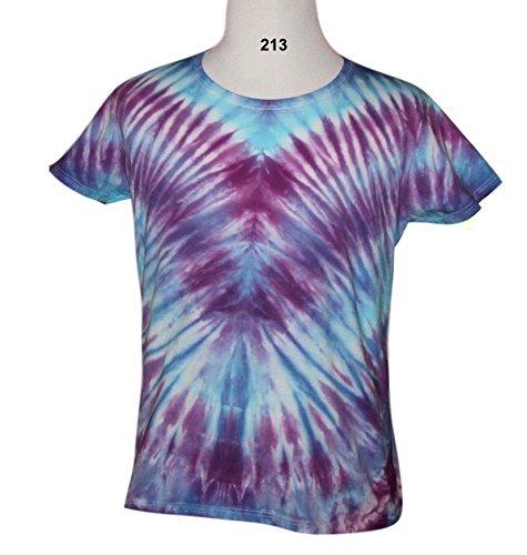 Tie Dye V Pattern T Shirt 213 - XL - Free Ship 213 Apparel