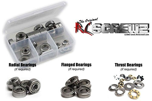 - RC Screwz Metal Shielded Bearing Kit for Teckno RC EB48.4 Buggy 1/8th (TKR8000)
