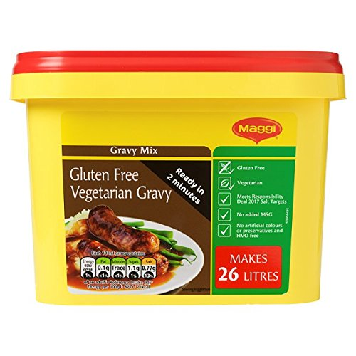 MAGGI sin gluten vegetariana salsa en polvo, 1,7 kg de hidromasaje (paquete