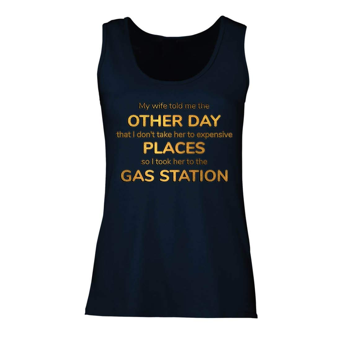 Lepni Me S Tank Top My Wife Told Me Funny Married Couple Quote Shirts