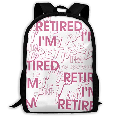 I'm Retired Retirement Partie Great Gift Sport Style Adult Unisex Shoulders Bag Retired Person,early Retirement (Monthly Retirement Planning Worksheet Chapter 8 Answers)
