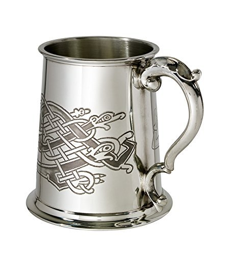 Wentworth Pewter Celtic Birds 1 pint pewter Tankard ()