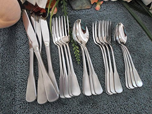 Oneida Vintage SSS USA 18/8 Stainless COLONIAL BOSTON aka MINUTE MAN 20pcs 4 Place Settings Excellent