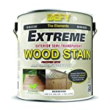 DEFY Extreme 1 Gallon Semi-Transparent Exterior Wood Stain, Redwood