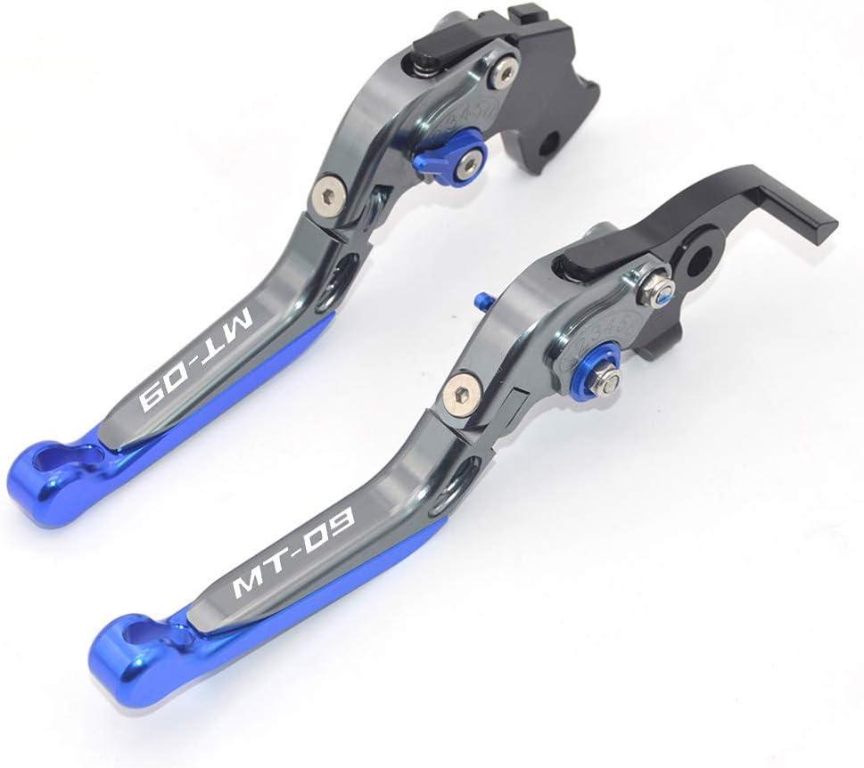 /2018 CNC allungabile pieghevole moto regolazione del freno leve frizione per Yamaha mt-09//SR 2014/