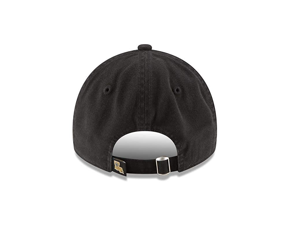 best service 0cd26 960d5 Amazon.com  New Era Men s New Orleans Saints 9TWENTY Core Black Hat   Clothing