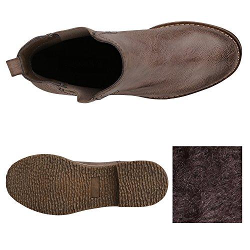 Khaki Arriate Stivali Chelsea Donna Stiefelparadies qItPOq
