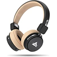 Boult Audio ProBass Flex Over-Ear Wireless Bluetooth Headphones with Mic and Noise Cancellation Earphone with Wired Mode Headset with Long Battery Life (Black)
