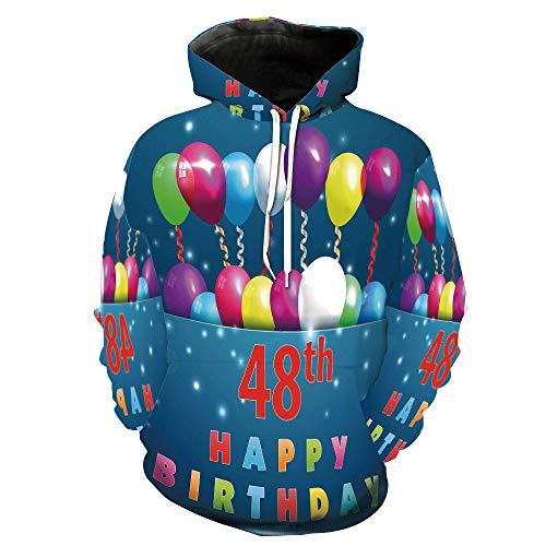 cassiesophiehome Fashion 3D Print Casual Tracksuit Jogging Sportswear Balloons Ribbon Joyful