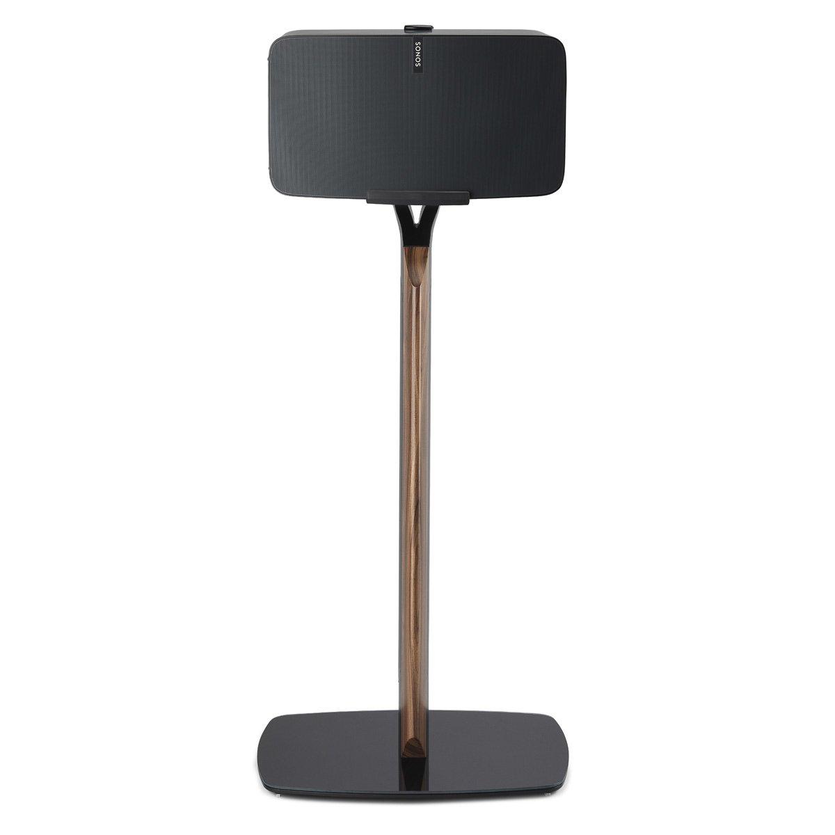 Flexson Premium Floor Stand for Sonos PLAY:5 (Black Walnut)