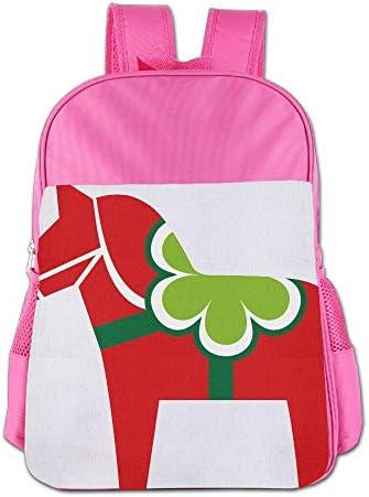[해외]Cute Horse Carrousel School Backpack Children Shoulder Daypack Kid Lunch Tote Bags RoyalBlue / Cute Horse Carrousel School Backpack Children Shoulder Daypack Kid Lunch Tote Bags Pink