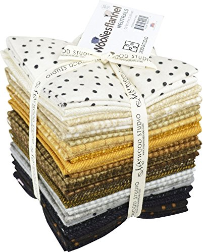 Bundle Bonnie (Woolies Flannel Neutrals Fat Quarter)