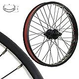 Stars-Cirle BMX BIKE Wheels Wheelset Oversized 20 Inch