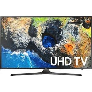 Samsung Electronics UN50MU6300 50-Inch 4K Ultra HD Smart LED TV (2017 Model)