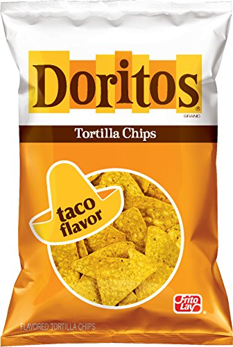 Doritos Taco Flavored Tortilla Chips, 9.75 Ounce