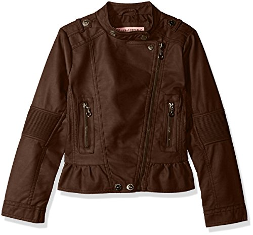 Urban Republic Girls' Faux Leather Moto Jacket