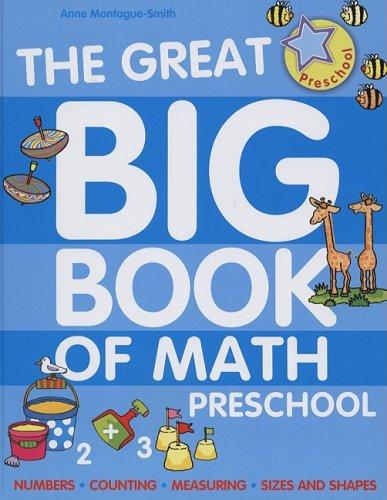 Great Big Book of Math: Preschool: Ann Montague-Smith, Jenny Tulip ...