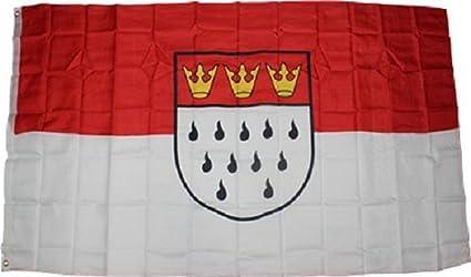 3 x 5 pies bandera de Alemania Colonia ciudad alemana Rough Tex de punto 3
