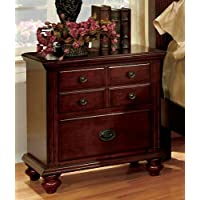 Bella Elegant European Style Cherry Night Stand