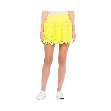 Jupe SUNRISE Jaune Femme Pepe Jeans  Amazon.fr  Vêtements et accessoires 69da9e31223