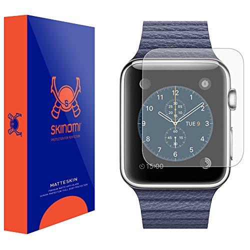 Skinomi Matte Screen Protector Compatible with Apple Watch Series 1 (42mm)(6-Pack) Anti-Glare Matte Skin TPU Anti-Bubble Film