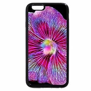iPhone 6S / iPhone 6 Case (Black) flower colors